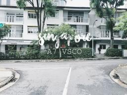 SINGAPORE ผ่านสีA7 VSCO